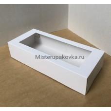 Коробка универсальная 270х120х60, белая с окном