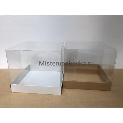 Коробка для торта 250х250х220 (фасовка 10 шт.)