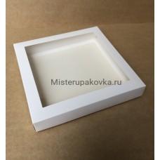 Коробка универсальная 200х200х30, белая