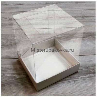 Коробка комбинированная 145х145х175 Белый (фасовка 5 шт.)