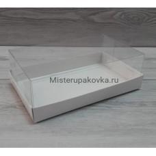 Коробка под пирожные 220х135х70, белый