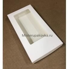 Коробка для шоколадной плитки 160х80х17, белая