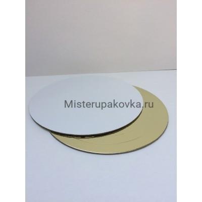 Подложка D-180, толщина 3,2мм золото/белый