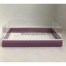 Коробка под пирожные 220х135х70, Ваниль