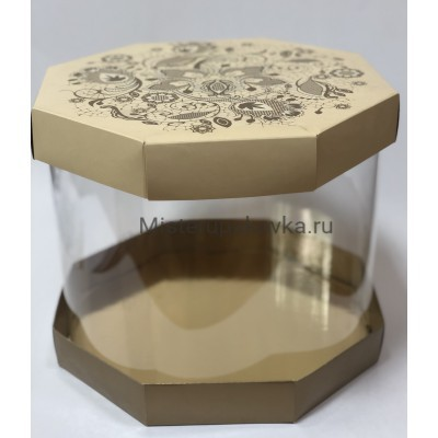 Коробка комбинированная Цилиндр 300х250 (фасовка 5 шт.)