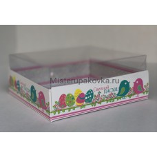 Коробка комбинированная 145х145х60 Пасха-2 (5 штук)