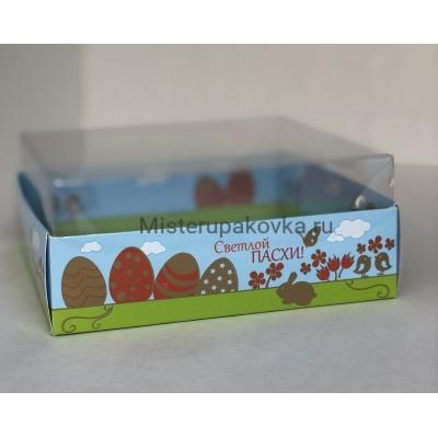 Коробка комбинированная 145х145х60 Пасха-1 (5 штук)