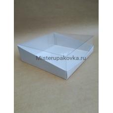Коробка для торта 270х270х90, белый (фасовка 5 шт.)