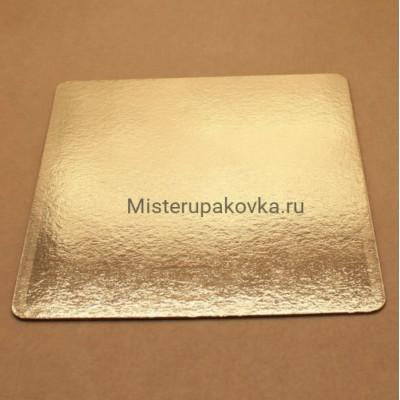 Подложка 250х250, толщина 0,8мм, золото