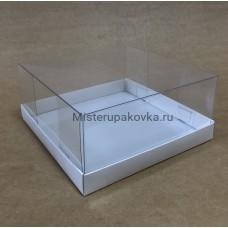 Коробка комбинированная 175х175х80 (комплект), белый