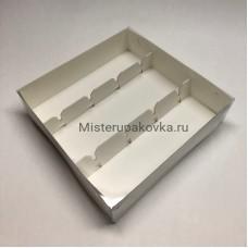 Коробка 200х200х50 для кейк-попсов (фасовка 5 шт)