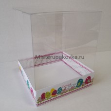 Коробка комбинированная 145x145x175 Пасха-2